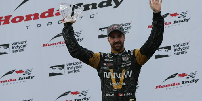 James Hinchcliffe - Toronto Honday Indy 2017